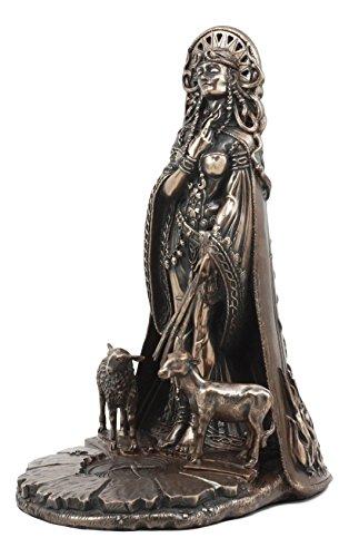 Ebros Celtic Goddess of Fire Brigid Statue Patroness Of Hope Poetry Livestock Medicine Spring Fertility Bridget Figurine