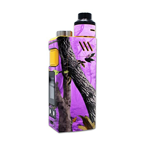 MightySkins Skin Compatible with iJoy RDTA Box 200W – Purple Tree Camo | Protective, Durable, and Unique Vinyl Decal wrap Cover | Easy to Apply, Remove, and Change Styles | Made in The USA