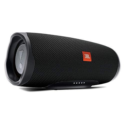 JBL Charge 4 - Altavoz inalámbrico portátil con Bluetooth, parlante resistente al agua (IPX7), JBL Connect+, hasta 20h de reproducción con sonido de alta fidelidad