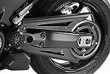 TMAX 530 560 2017/20 - Covers Correa (R-0843) - Protezioni Paracarena Paratelaio Catena - Aluminio - Tornillería Incluido - Accesorios De Pretto Moto (DPM Race) - 100% Made in Italy