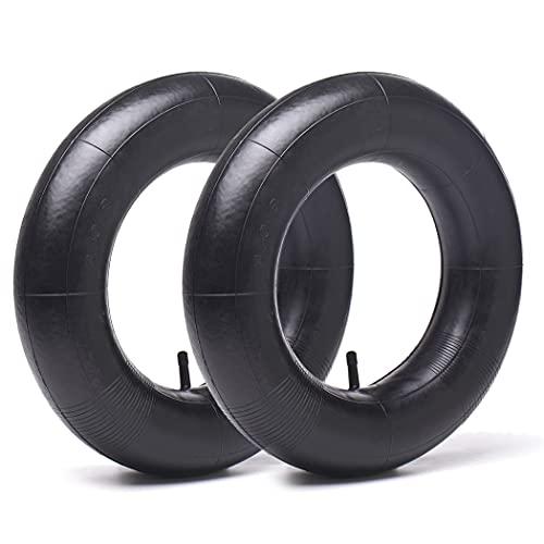 2 Pack 3.00/3.50-8 Replacement Inner Tubes for pneumatic wheelbarrow wheel,cart wheel, garden cart,...