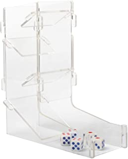 Dice Tower, Dice Tower Kit for Dice Games Clear
