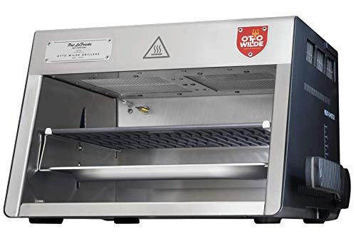 The Original Otto 1500°F Steak Grill with Dual OverFire Radiant Burners for...