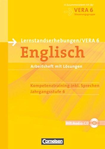 Vorbereitungsmaterialien für VERA - Englisch: 6. Schuljahr - Arbeitsheft mit Hör-CD