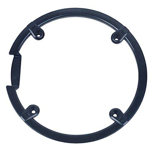 VORCOOL Fahrrad Kettenradabdeckung für Shimano M430 M590 M390 (Schwarz)