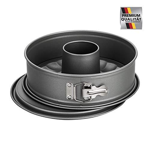 Kaiser-La Forme Backform ø26cm Springform 3-teilig, Antihaftbeschichtet, Ofenfest bis 230°C, Made in Germany (Springform ø26cm)