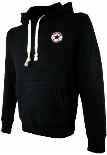 Converse Sweater Men - CORE C Patch 04998C - Jet Black, Größe:S