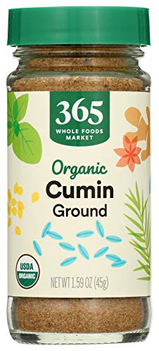 365 by Whole Foods Market, Organic Seasoning, Cumin - Ground, 1.52 Ounce