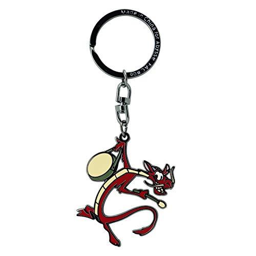 ABYstyle - Disney - Mulan - Schlüsselanhänger - Mushu