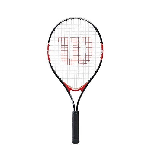 Wilson Federer Junior Tennis Racquet (21-Inch, Black/Red)