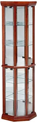 Living Room Furniture Curio Cabinets - 6