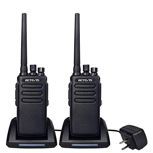 Retevis RT81 Adults Walkie Talkie Long Range Waterproof IP67,DMR Radio UHF Digital Heavy Duty 2 Way Radio,32CH Group Call VOX 2200mAh (2 Pack)