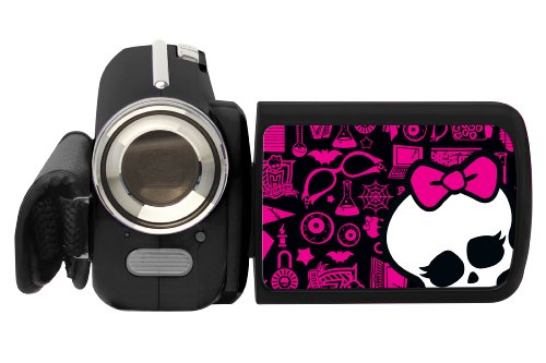 """LEXIBOOK DJ280MH Monster High - Cámara de Fotos Digital con diseño de Monster High (1,3 Mpx, Zoom óptico 4X, Pantalla de 4,6 cm/1,8"""", Sensor CMOS) [Importado de Alemania]"""
