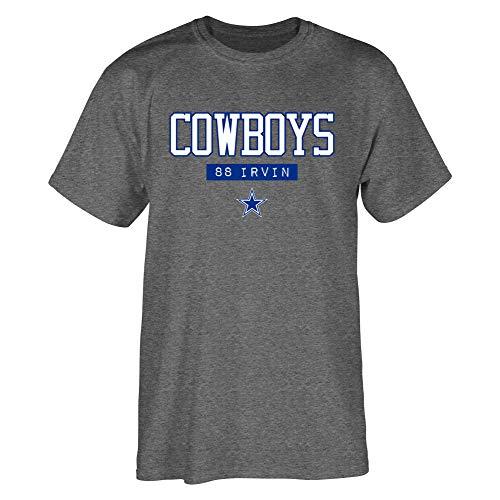 NFL Dallas Cowboys Herren Akron Irvin, Grau, Größe M