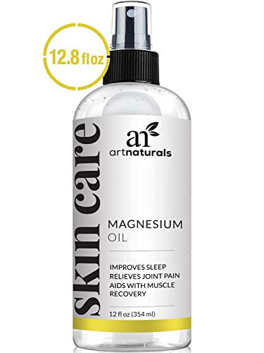 ArtNaturals Pure Magnesium Oil Spray - (12 Fl Oz / 355ml) –...