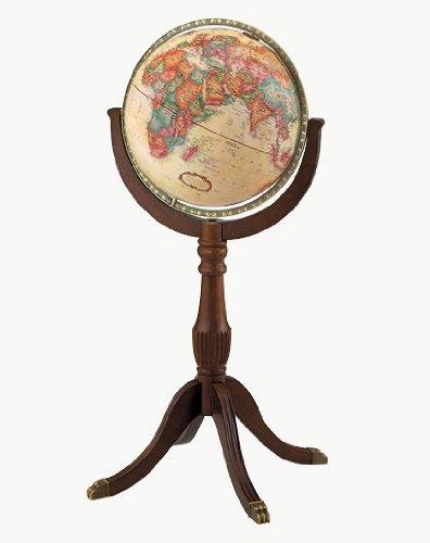 Replogle Globes 22716 Sherbrooke II Globe, Large, Off-White