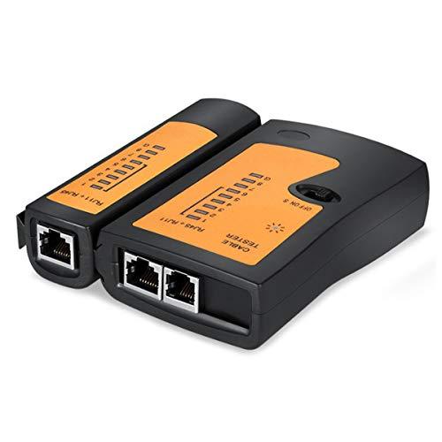 RJ45 probador de cable de red probador de cable Ethernet herramienta de prueba de alambre RJ45 RJ11 RJ12 CAT5 UTP LAN probador de cables herramienta de red de reparación