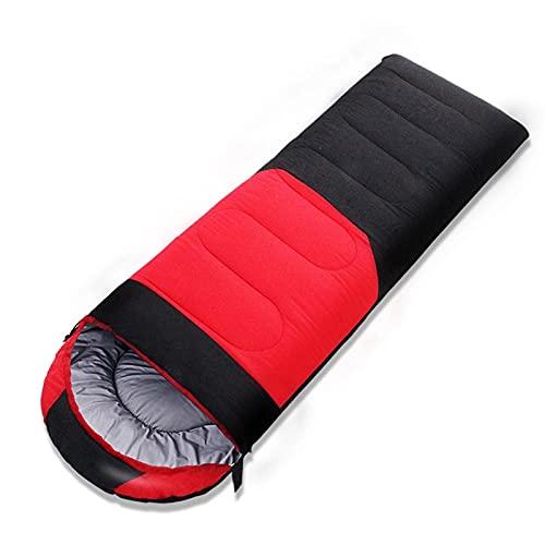 FACWAWF Saco De Dormir para Adultos El Engrosamiento De Primavera Y Otoño Se Puede Coser Saco De Dormir De Algodón Saco De Dormir De Algodón para El Almuerzo Interior 210x80cm(1350g)