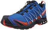 Salomon Homme Chaussures de Trail Running, XA PRO 3D GTX, Couleur: Bleu (Imperial Blue/Navy Blazer/Cherry Tomato), Pointure: EU 42