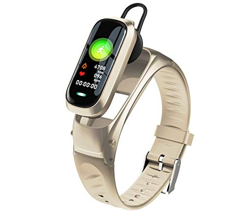 Yiwa B9 Intelligente armband Bluetooth 5.0 activiteitenarmband hartslagfrequentie slaapmonitor fitness tracker smartwatch, Goud