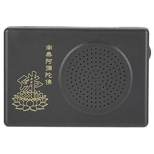 Buddha Praying Machine, Electronic Buddhist Chanting Player Automatic Buddha Praying Player Buddha Machine Chanting (Without Battery)