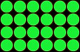 Tiger Tail Sports Recreational-Quality (1-Star, 40mm) Ping Pong Balls (Glow-in-Dark Green, 12-Pack)