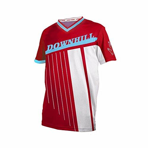 Uglyfrog Designs Bike Wear Jerseys de Ciclismo para Hombres - Uniforme de Moto de Manga Corta Transpirable con Corto para Ropa de Ciclismo Profesional,Motos/Downhill Camisetas