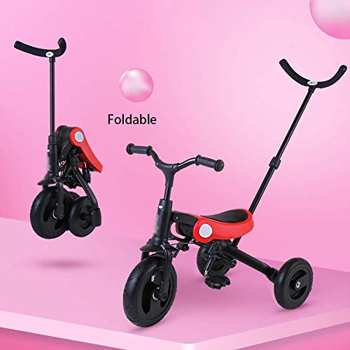 Buy Discount Kids' Tricycles Children's Tricycle Pedal Bicycle 2-3-6 Years Old Baby Bicycle, Foldabl...