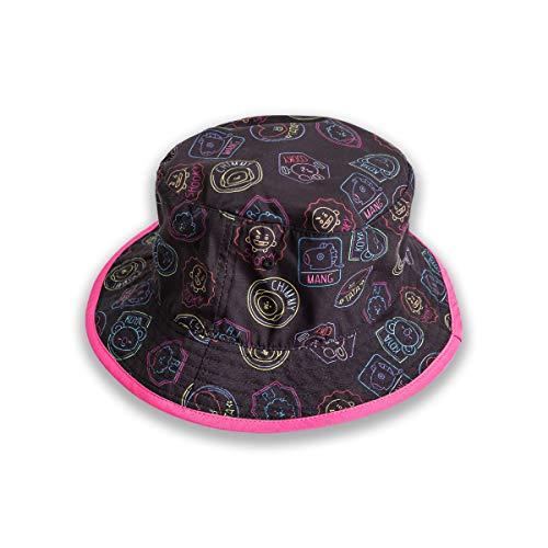 BT21 Neon Color carácter Unisex impresión algodón cubo sombrero