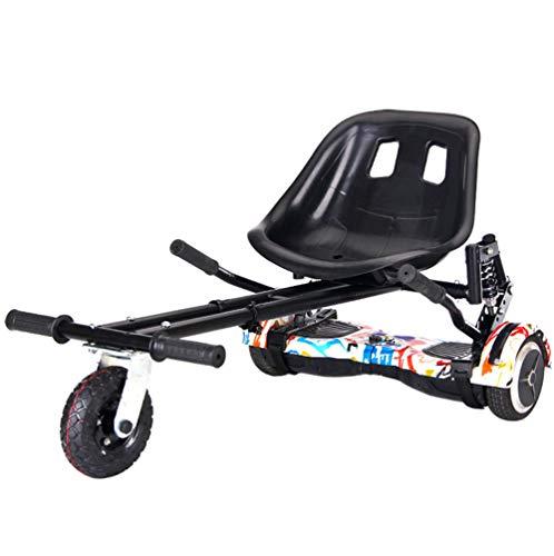 Lvbeis Hoverkart per Hoverboard Sedile Go Kart per Auto Bilanciato Compatibile con Monopattino Elettrico Scooter