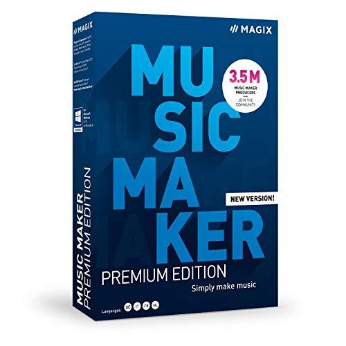 Music Maker - 2021 Premium Edition - Mehr Sounds. Mehr Möglichkeiten. Einfach Musik machen.|Plus|multiple|limitless|PC|Disc|Disc