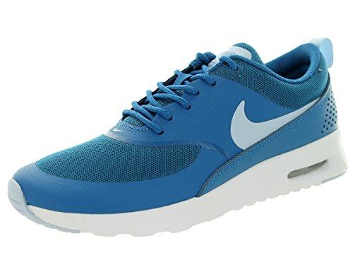 Nike Air Max Thea, Damen Sneakers, Blau (Brigade Blue/Porpoise-White 410), 37.5