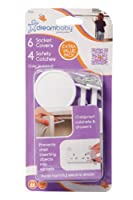 Dreambaby Safety Catches and Outlet Plug Covers, White by Dreambaby [並行輸入品]