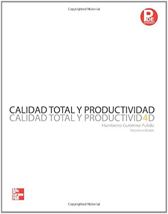 Calidad Total y Productividad (Spanish Edition)