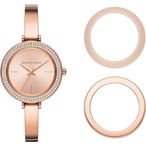Michael Kors - Reloj de Cuarzo de Acero Inoxidable para Mujer MK4435