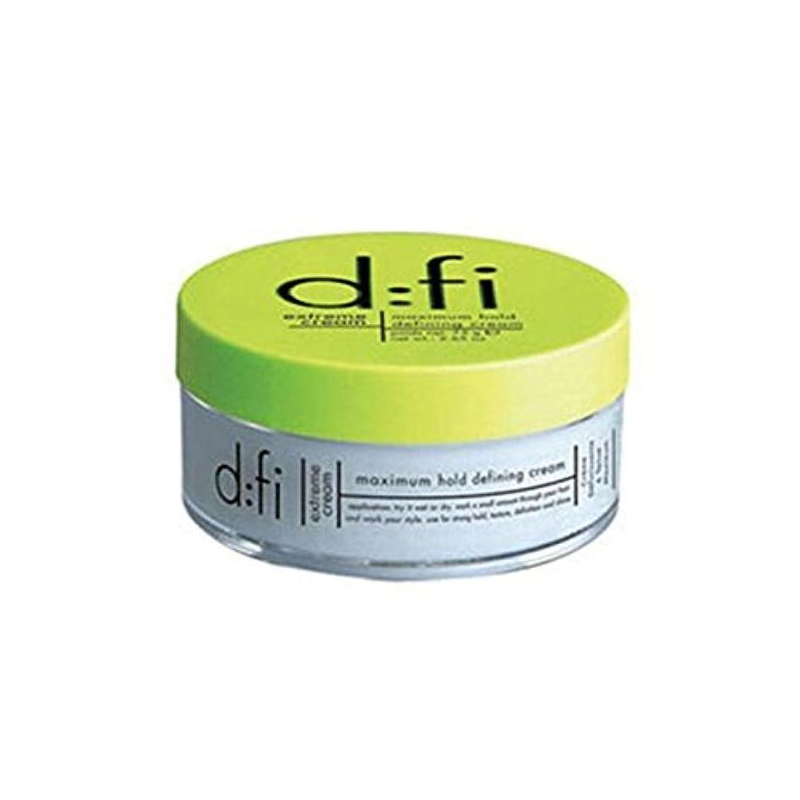 くるくるイライラするゴム:の極端なホールドスタイリングクリーム(75) x4 - D:Fi Extreme Hold Styling Cream (75Gms) (Pack of 4) [並行輸入品]