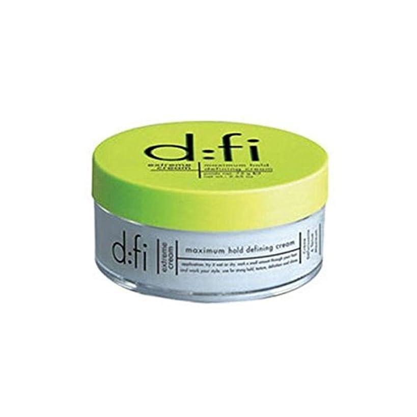 抜本的なピット花嫁D:Fi Extreme Hold Styling Cream (75Gms) (Pack of 6) - :の極端なホールドスタイリングクリーム(75) x6 [並行輸入品]