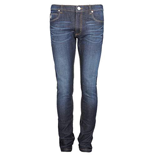 Versace Jeans EA2GQB0KF Jeans a Gamba Dritta, Blu (Indigo), W34/L35 (Taglia Produttore:34) Uomo