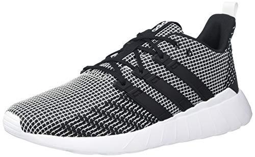 adidas mens Questar Flow Sneaker Running Shoe, Black/White/Black, 6.5 US