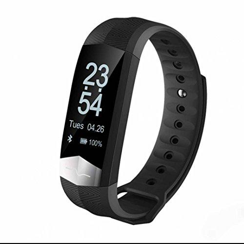 Activity Tracker,Orologio Fitness Tracker Cardio Contapassi con Cardiofrequenzimetro da Polso Contapassi Braccialetto Pedometro con Pressione Arteriosa/Ossimetro e Cardiofrequenzimetro Per iPhone ios/Android