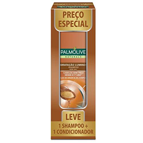Kit Palmolive Naturals Hidratação Luminosa Promo 1 Shampoo 350ml + 1 Condicionador 350ml