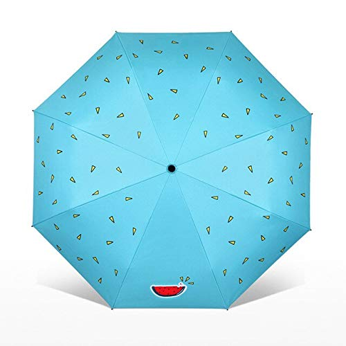 NJSDDB paraplu Bloem Kat Vouwparaplu Vrouwelijke Winddichte Paraguas Leuke Dier Schilderij Paraplu Regen Vrouwen Kwaliteit Paraplu's, 7