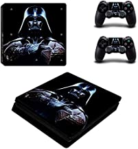 Playstation 4 Slim Skin Set – Galaxy War - HD Printing Vinyl Skin Cover Slimtective for PS4 Slim Console and 2 PS4 Controller by Mr Wonderful Skin .
