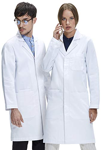 Dr. James Camice da Laboratorio Unisex, vestibilità Classica, Tasche per Smartphone e Tablet (Uomo 6XL   Donna 6XL)