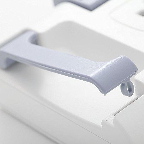 可動式電源タップ回転式8口+固定式4口S9PC01RB