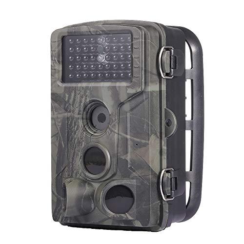 lahomia Trampa para Cámara de Seguimiento HC802A 42 LED IR Vigilancia Inalámbrica 65 Pies Distancia PIR