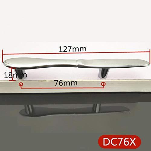 Lochabstand 76mm Kreative Küchenschrankgriffe Schrankgriffe Schrankkommode Griffe Schublade zieht Messer Gabel Löffel Bronze, X.