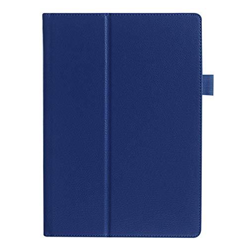 ASUS Memo Pad FHD 10 Funda de Cuero PU Funda con Soporte para ASUS Memo Pad ME301T ME302 ME302C ME302KL 10.1 Tableta-Azul Oscuro