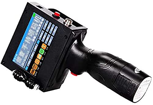 EXOTC Impresora De Tinta De Mano Pequeña Impresora Automática Fecha De Producción Código Qr Impresora De Inyección De Tinta 12.7mm Impresora Multifuncional De Inyección De Tinta