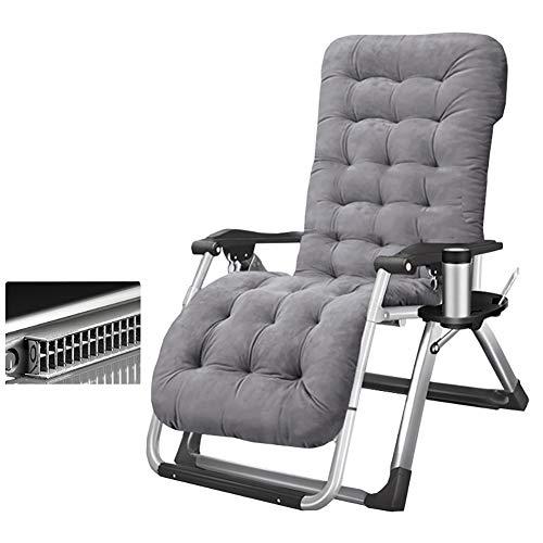 Klappstuhl YXX Zero Gravity Reclining Lounge Chair mit Getränkehalter, klappbare Liege Multi Position Sonnenliege für Garten Outdoor Patio (Farbe : Style-2)